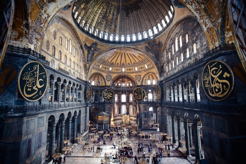Hagia Sophia Interior (Ayasofya) - Istanbul