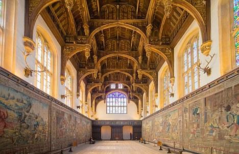 BD7HTA Great Hall, Hampton Court Palace, Surrey, UK