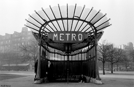 metro porte dauphine 1955 horvat
