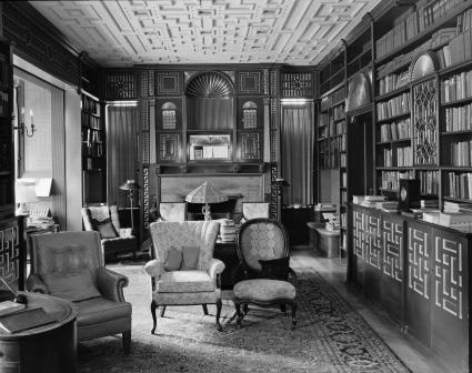 William_Watts_Sherman_House_(Newport,_RI)_-_library